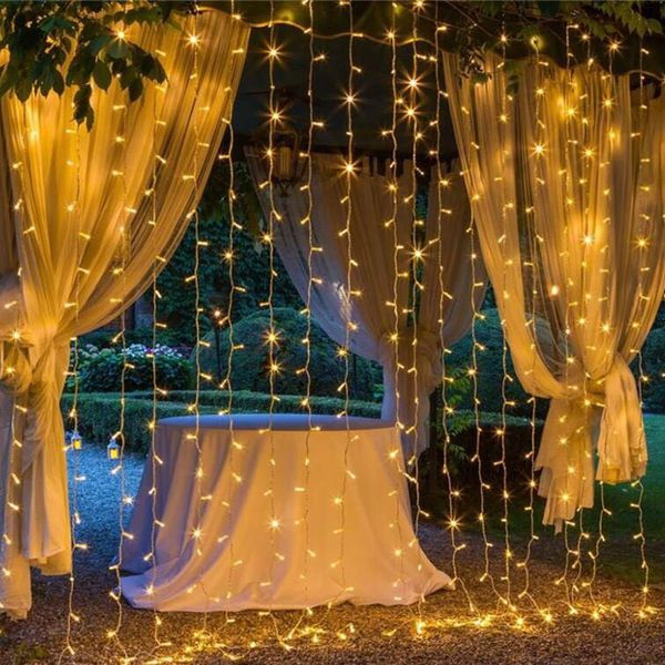 Christmas Curtain String light