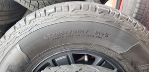 GMC sierra 17 inch rims with tires for Sale in Kent, WA