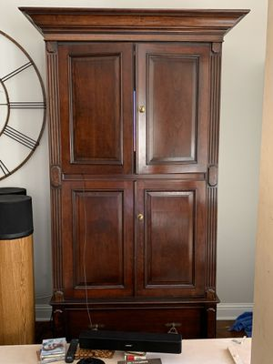 TV armoire, solid cherry. FREE for Sale in San Jose, CA