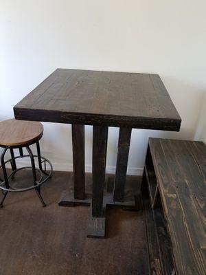 Reclaimed wood furniture restaurant table for Sale in Chandler, AZ