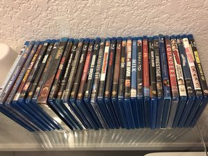 Blu-rays (all new or like new) for sale in packs of 5 or as a set for Sale in San Francisco, CA