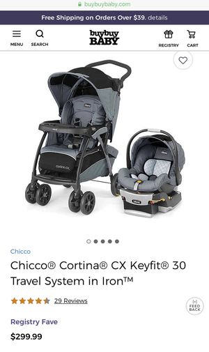 Stroller+ Car seat Chicco Keyfit30 Travel System for Sale in Las Vegas, NV