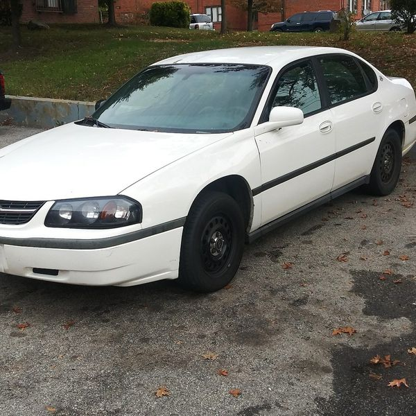 Chevy police package impala