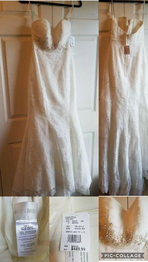 Wedding dress - brand new for Sale in Manassas, VA