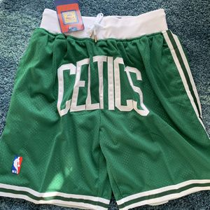 NBA Just Don Celtics Shorts Men for Sale in Covina, CA