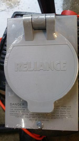 Reliance PB 30 generator plug for Sale in Haverhill, MA