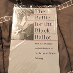 The Battle For The Black Ballot By Charles L. Zelden for Sale in McDonough, GA