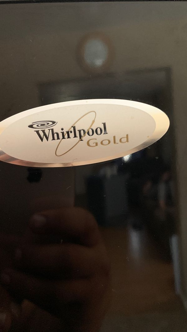 30 inch whirlpool gold series ,top freezer style.OBO