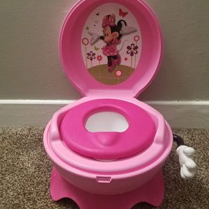 Disney Minnie Mouse Pink Potty Chair for Sale in Greer, SC