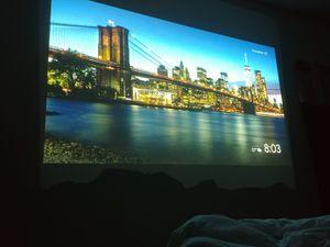 """Mitsubishi Movie/HD TV Projector. 50-250"""" TV for Sale in Dallas, TX"""