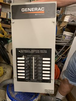 Transfer switch 100amp for Sale in Mount Clare,  WV