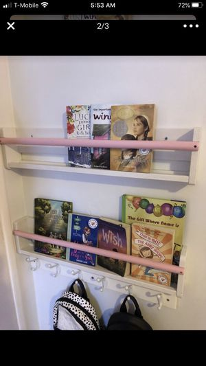 2 custome painted book shelves for Sale in Los Angeles, CA