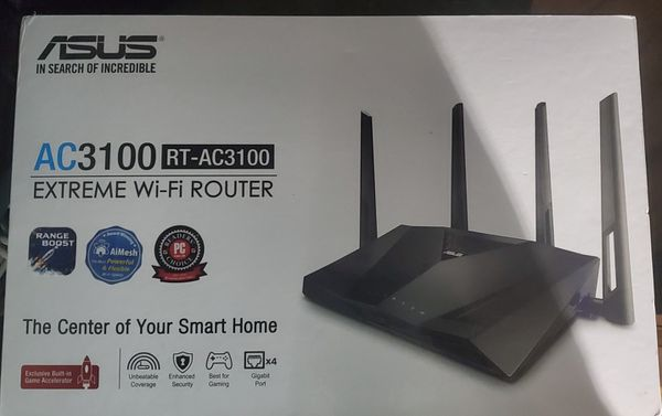 ASUS RT-AC3100 EXTREME WIFI ROUTER
