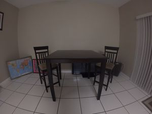 Kitchen table with two chairs for Sale in Miami, FL