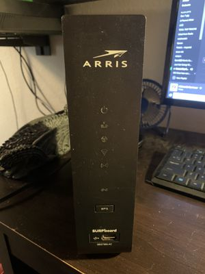 ARRIS Cable Modem/WiFi Router for Sale in Whittier, CA