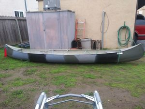 "14"" aluminum canoe for Sale in Campbell, CA"