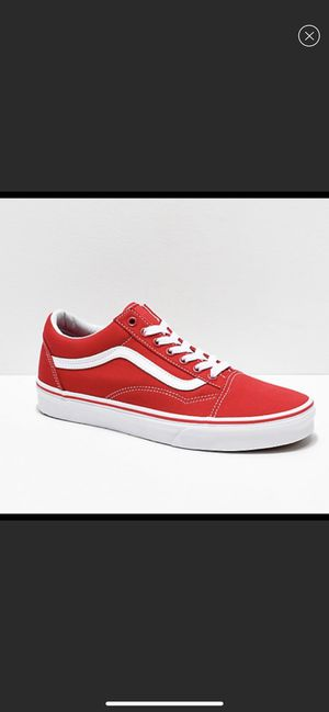 Red Vans for Sale in Bedford, OH