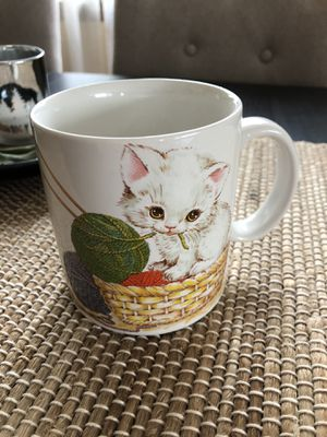 Otagiri kitten mug for Sale in Chicago Ridge, IL