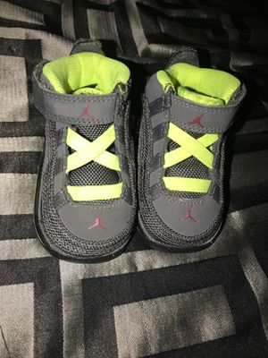 Infant baby Jordan's 2c practically brand new for Sale in Sacramento, CA