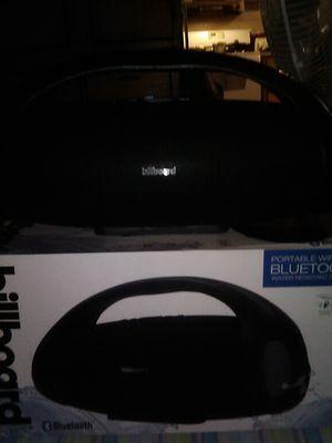 The speaker is billboard Bluetooth speaker new in box for Sale in Zolfo Springs, FL
