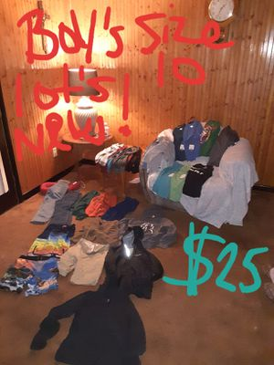 Boys size 10 clothing lot good condition for Sale in Saint Thomas, PA