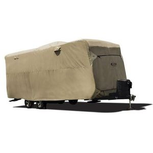"ADCO BY COVERCRAFT 74840 STORAGE LOT COVER FOR TRAVEL TRAILER RV, FITS 18'1""-20', TAN for Sale in Las Vegas, NV"
