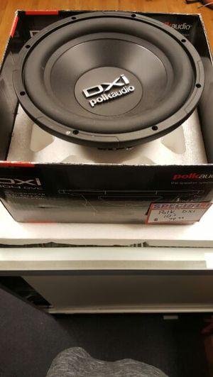 "Polk DXI Car Audio 10"" for Sale in Denver, CO"