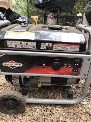 Briggs and Stratton 3500 Watt Home Series Generator for Sale in Renton, WA
