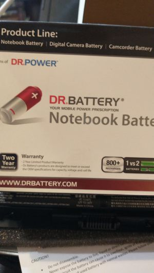 Notebook laptop battery for Sale in Mohrsville, PA