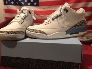 Jordan 3 retro unc for Sale in Spring Valley, CA
