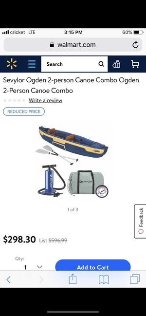 Inflatable canoe for Sale in Antioch, CA