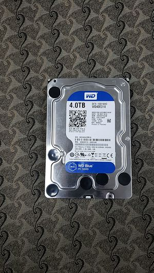 Hdd 4 TB WD BLUE for Sale in North Richland Hills, TX