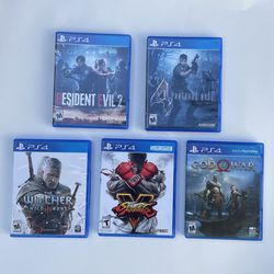 PS4 PlayStation 4 Games Bundle for Sale in San Diego,  CA