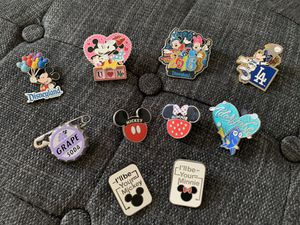Disney pins and lanyard for Sale in Downey, CA
