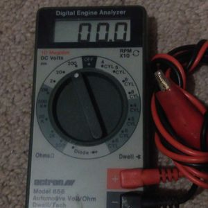 Actron Digital Engine Analyzer - Model 856 with Volts, Ohms, Dwell and Tach for Sale in Portland, OR