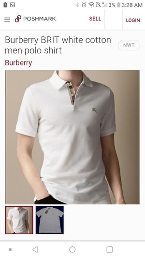 Selling burberry brit polo shirt size xx for Sale in Phoenix, AZ