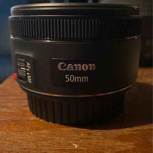 Nifty Fifty 50 Mm Lens for Sale in Dallas, TX