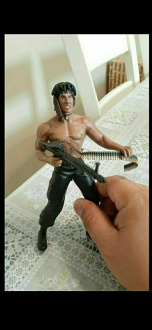 Hardened Rambo First Blood Part 2 Action Figure N2 Toys for Sale in Rancho Cucamonga, CA