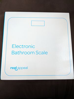 BRAND NEW IN BOX electronic bathroom scale for Sale in Jersey City, NJ