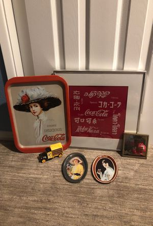 Coca Cola collectibles for Sale in Happy Valley, OR