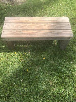 Rustic Garden Bench for Sale in Hialeah, FL