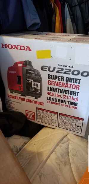 Honda 2200w generator brand new for Sale in Springdale, MD