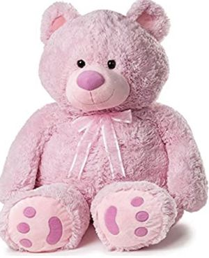47 inch giant Plush Pink Teddy Bear for Sale in Largo, FL