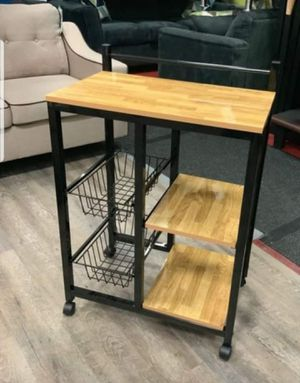 Brand New Kitchen Utility Cart on Wheels for Sale in Silver Spring, MD