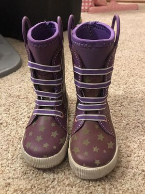Western Chief size 9/10 girls rain boots for Sale in Edmonds, WA