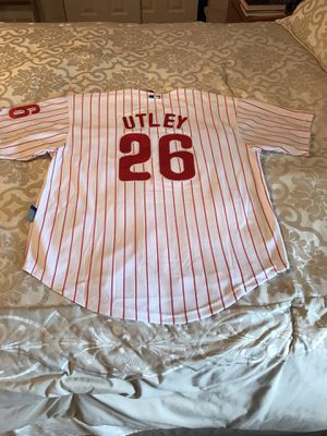 Phillies utley medium baseball jersey for Sale in Philadelphia, PA