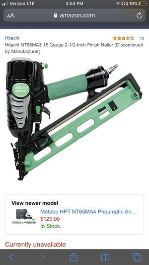 Hitachi nail gun for Sale in Albany, GA