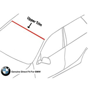 Genuine Front Upper Windshield Trim Molding 04-To-17 BMW OEM #51313415508 for Sale in Providence, RI