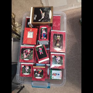 Assortment of 30 Hallmark Ornaments for Sale in Youngsville, LA