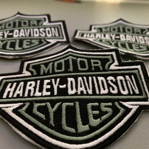 Harley Davidson 4 Inch Patches - Iron On Or Sew On for Sale in Fontana, CA